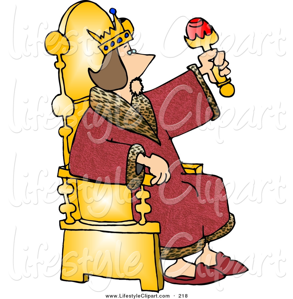 hight resolution of throne clipart