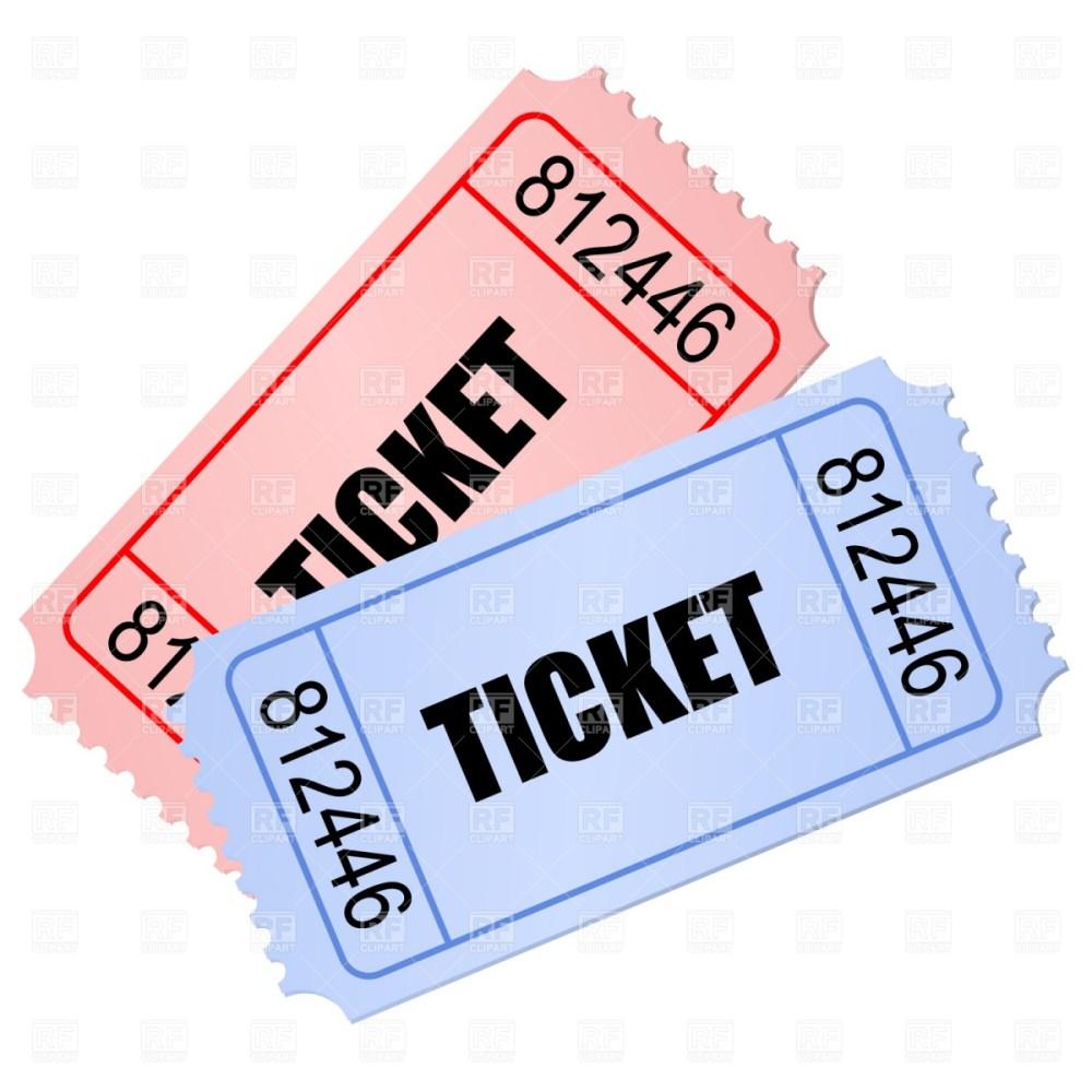 medium resolution of ticket clipart