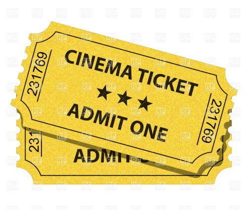 small resolution of ticket clipart