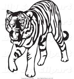 tiger clip art [ 1024 x 1044 Pixel ]