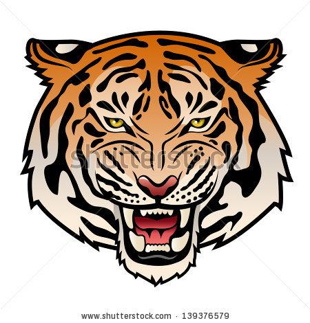 20+ Roaring Tiger Clip Art Ideas and Designs