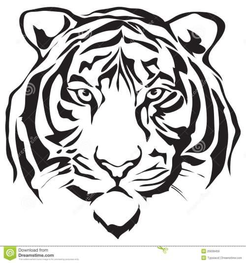 small resolution of tiger face clip art