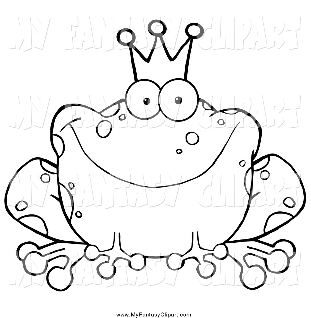 Toad Clipart Black And White Clipart Panda