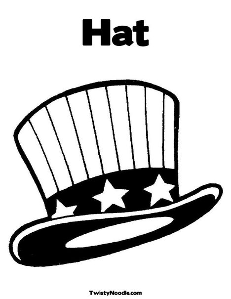 Coloring Pages Magician Hat