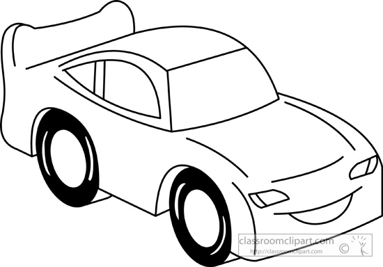 Toy Truck Clipart Black And White
