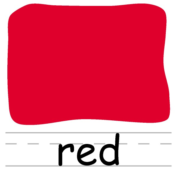 clip art colors red clipart