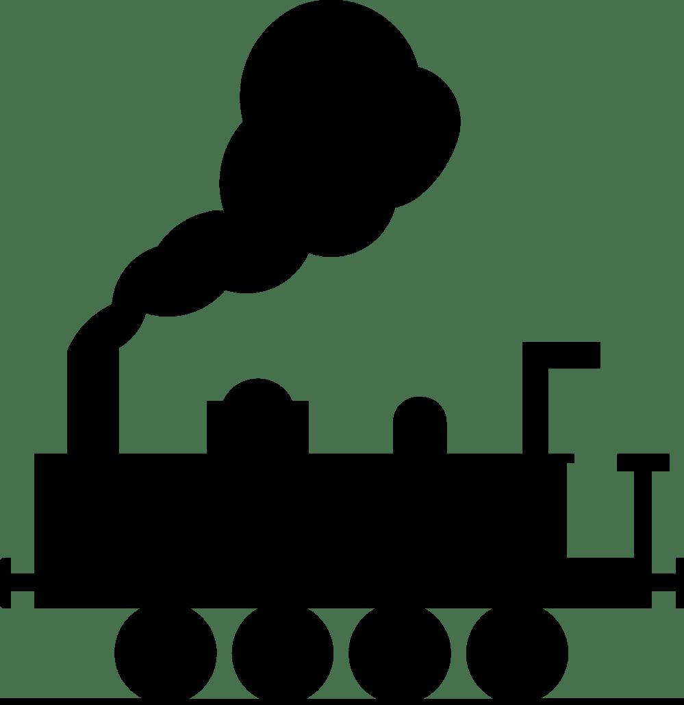 medium resolution of train clipart black and white