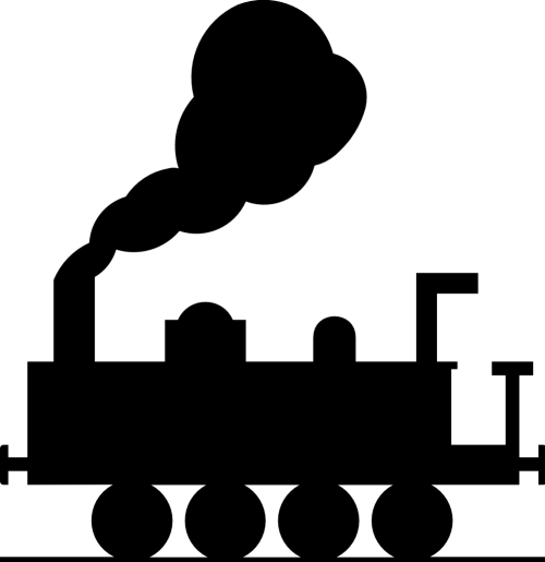 small resolution of train clipart black and white