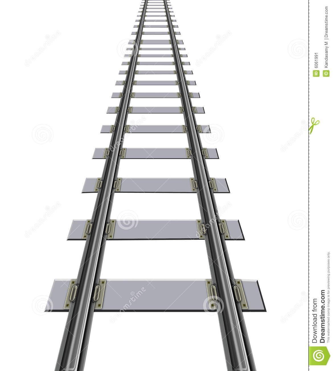 Horizontal Train Tracks Clipart Panda
