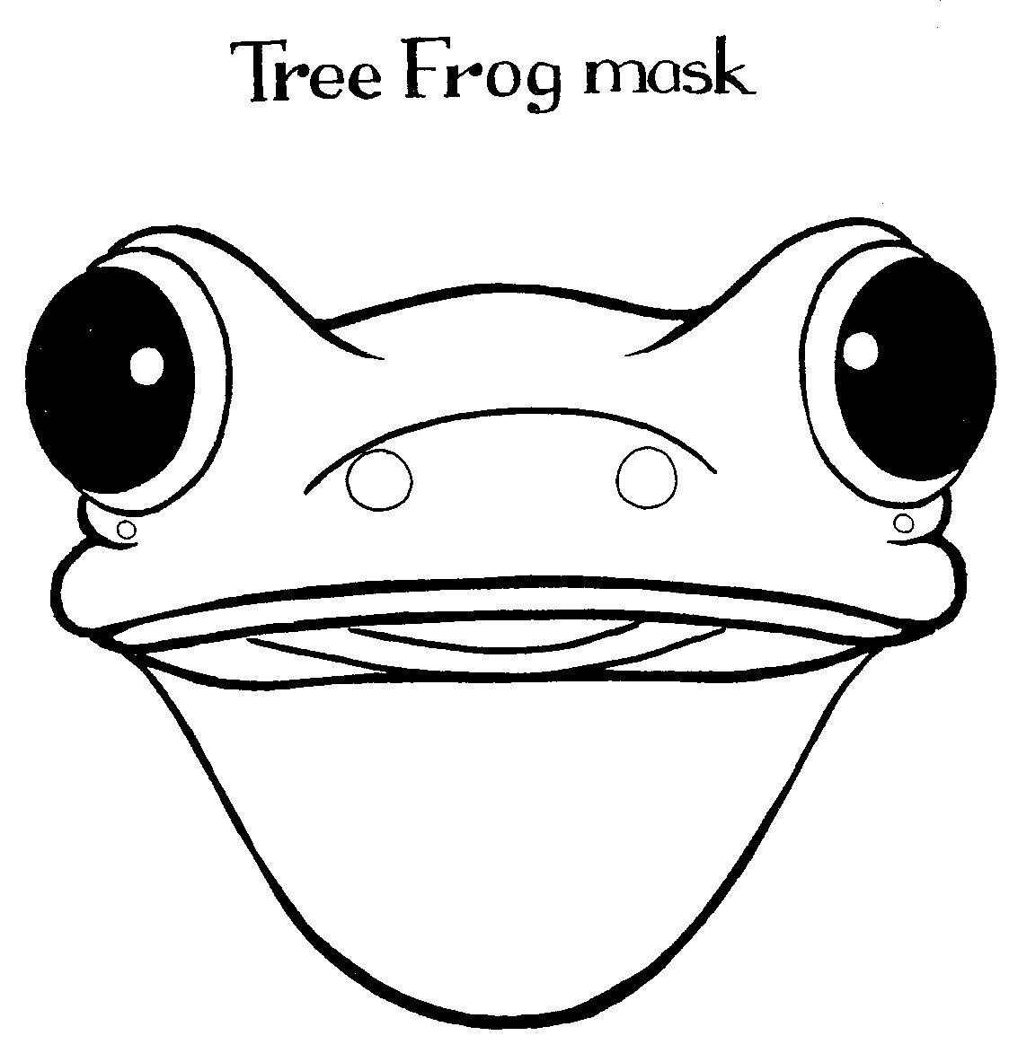 Tree Frog Drawing Clipart Panda