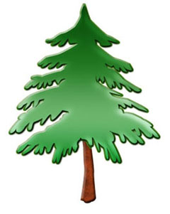 christmas clipart trees clipart