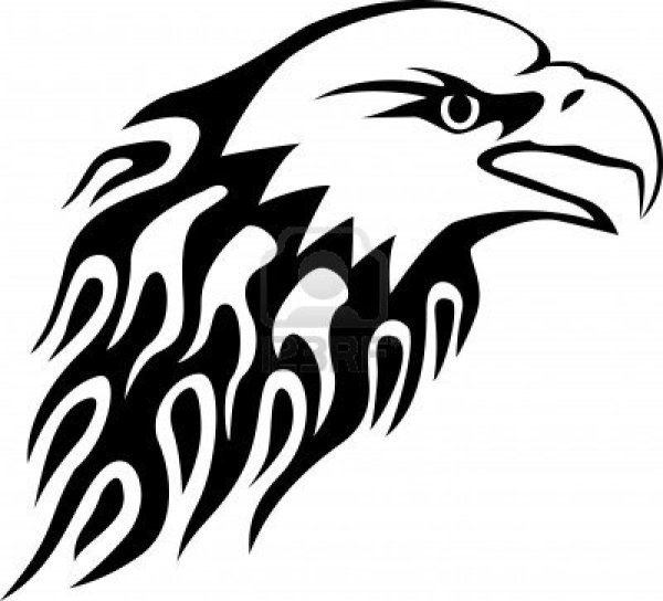 058cfd422 20+ Tribal Eagle Clip Art Black And White Ideas and Designs