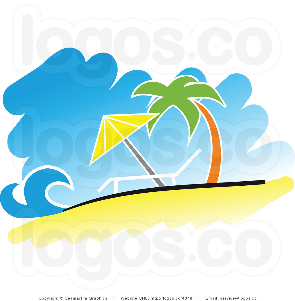 hight resolution of tropical beach clipart