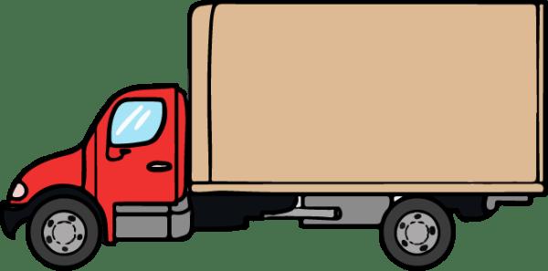 truck clipart panda