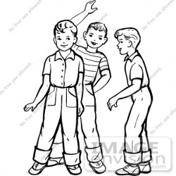 boys talking clipart waving friends retro boy drawing clip illustration vector friendship royalty clipartpanda panda cliparts terms