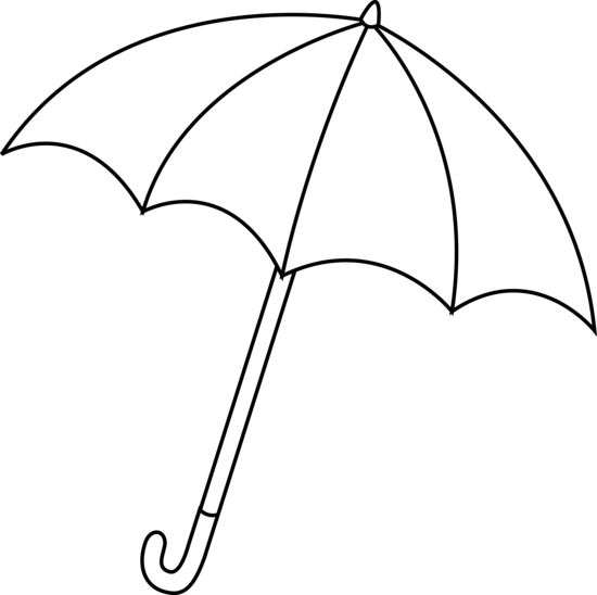 Outline Of An Umbrella