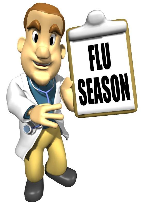 vaccine influenza clipart