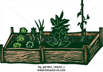 garden vegetable raised clipart clip graphic clipartpanda hg graphics fotosearch drawings terms