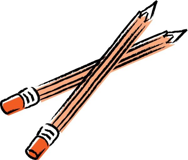 school pencil clip art clipart