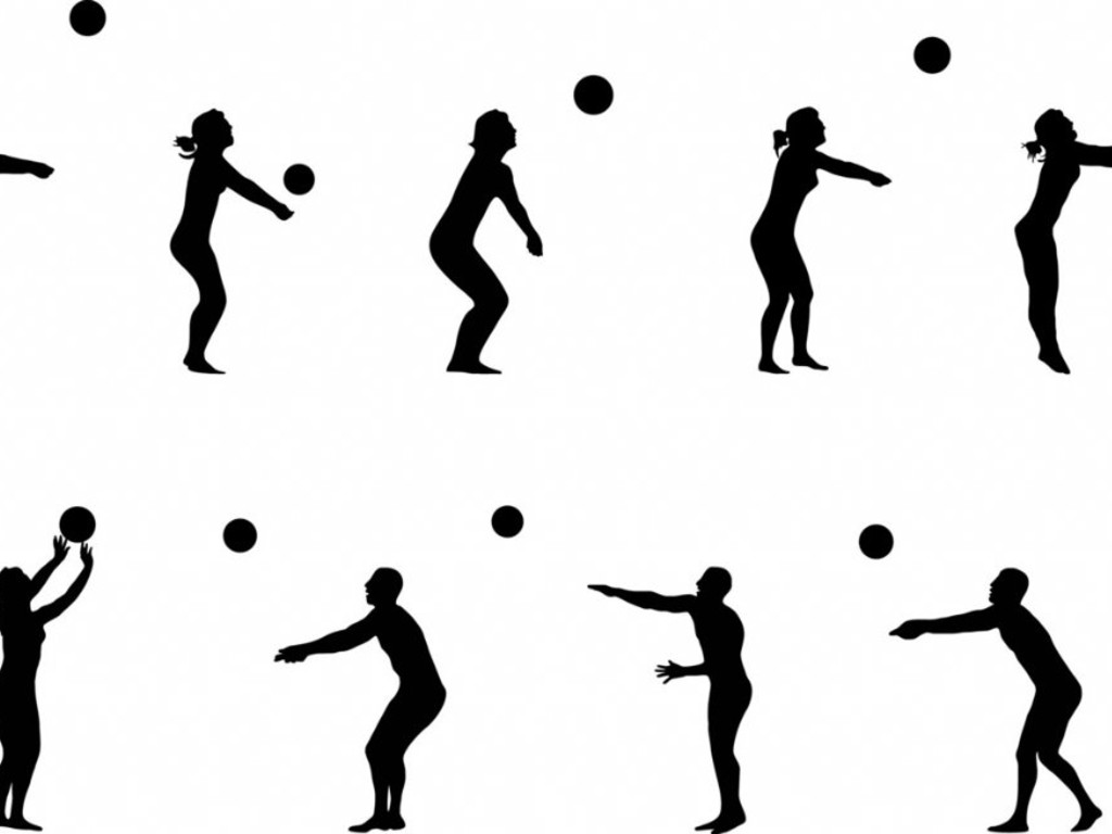 Volleyball Dig Clipart Clipart Panda
