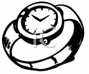 clipart clip wristwatch watches clipartmag panda