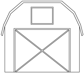 barn outline clipart door clip farm cliparts stable library open farmer clipartpanda background clipartix tractor graphics presentations websites reports powerpoint