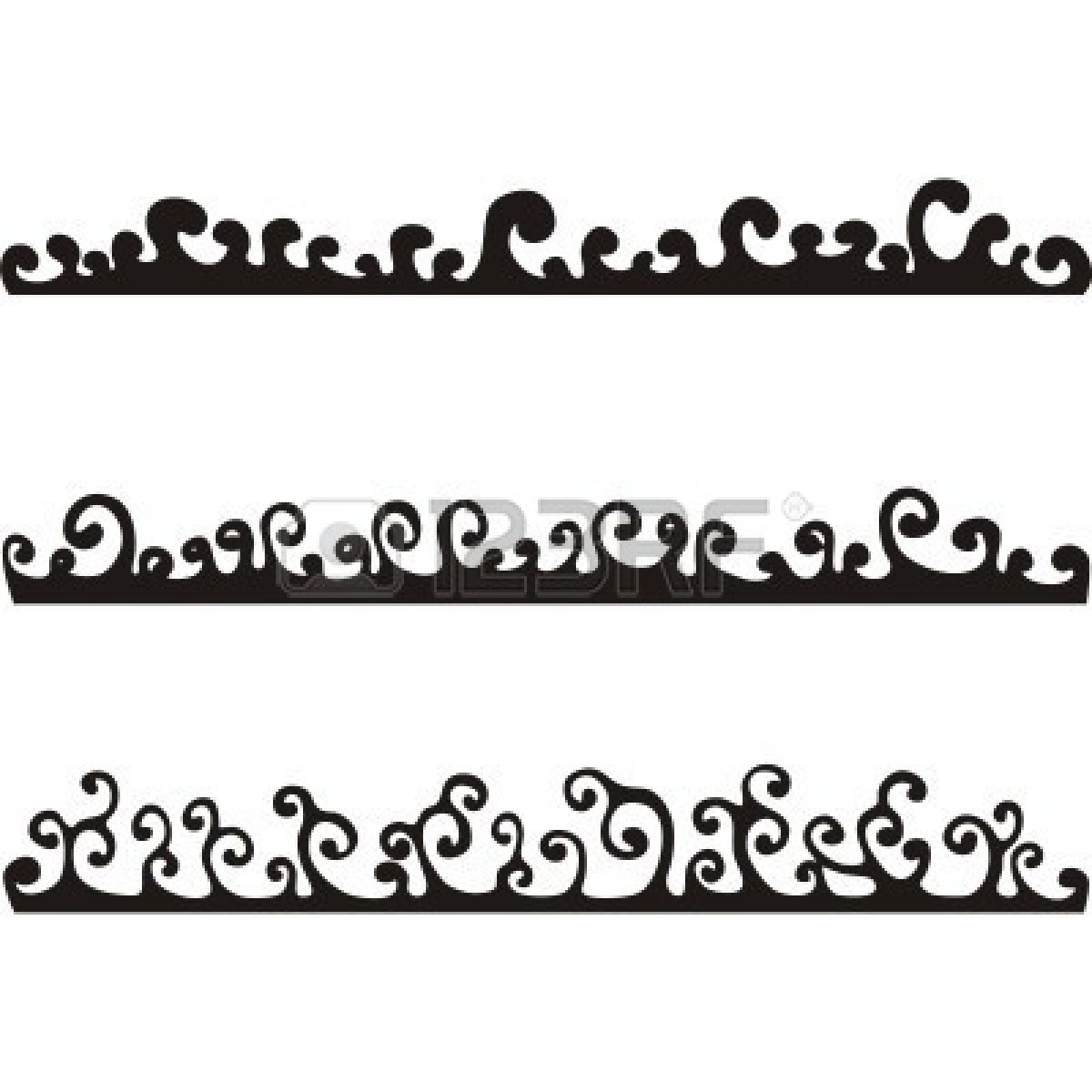 Ocean Clip Art Black And White Cliparts