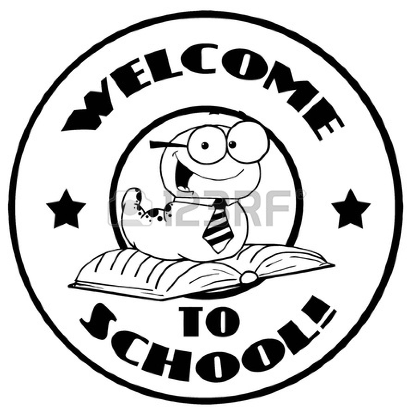 Welcome Back To School Clipart Black And White Clipart Panda