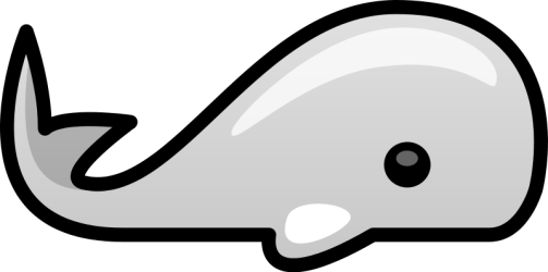whale clip cartoon clipart sperm simple cliparts cute fish whales clker fin svg openclipart baby shark lemon clipartix vector dorsal