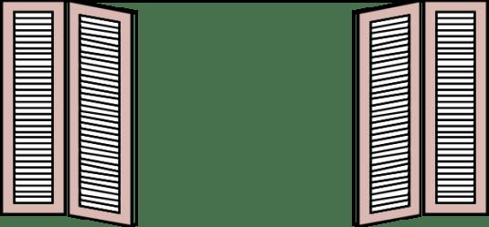 clipart window clip shutters christmas iron categories