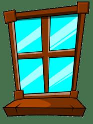 Closed Window Clipart