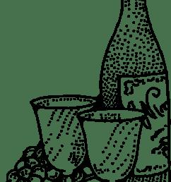 wine clip art [ 1969 x 3457 Pixel ]
