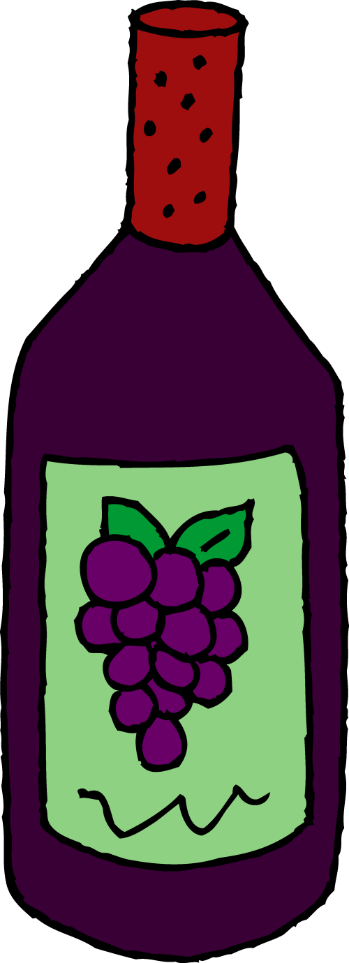 small resolution of wine clip art