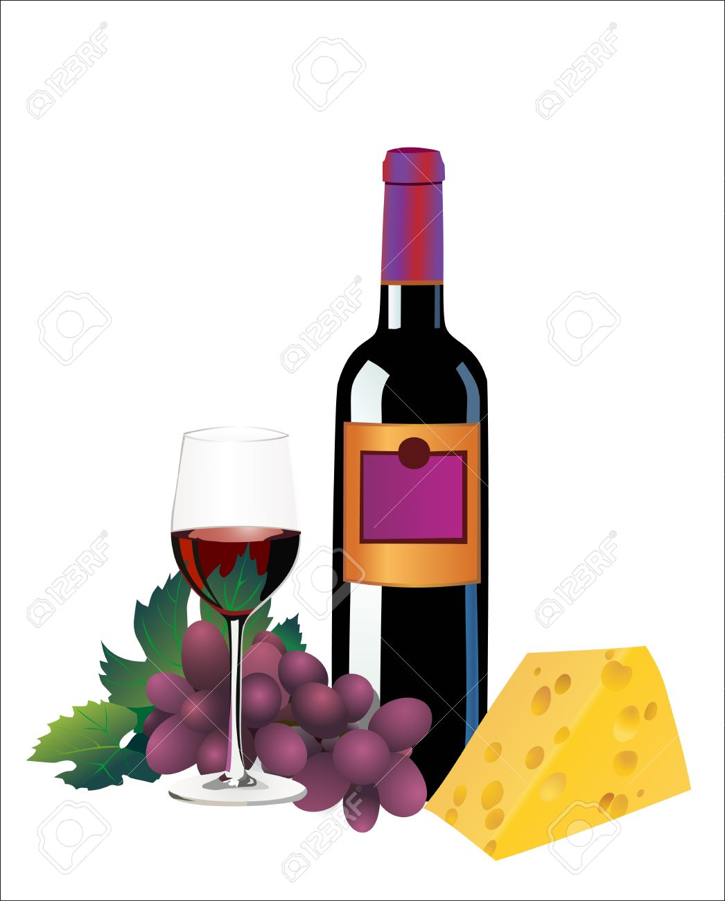 hight resolution of wine clipart