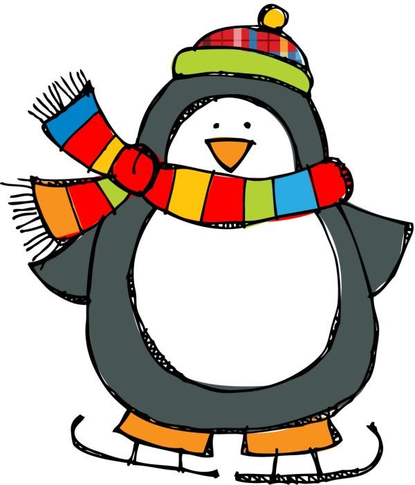 winter clip art scenes clipart