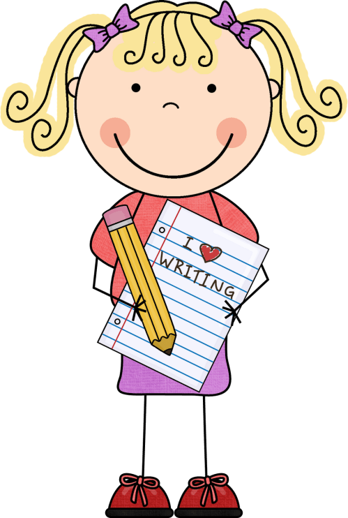 small resolution of woman writing clipart