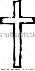 cross wooden vector clipart christian illustration clipartpanda terms shutterstock