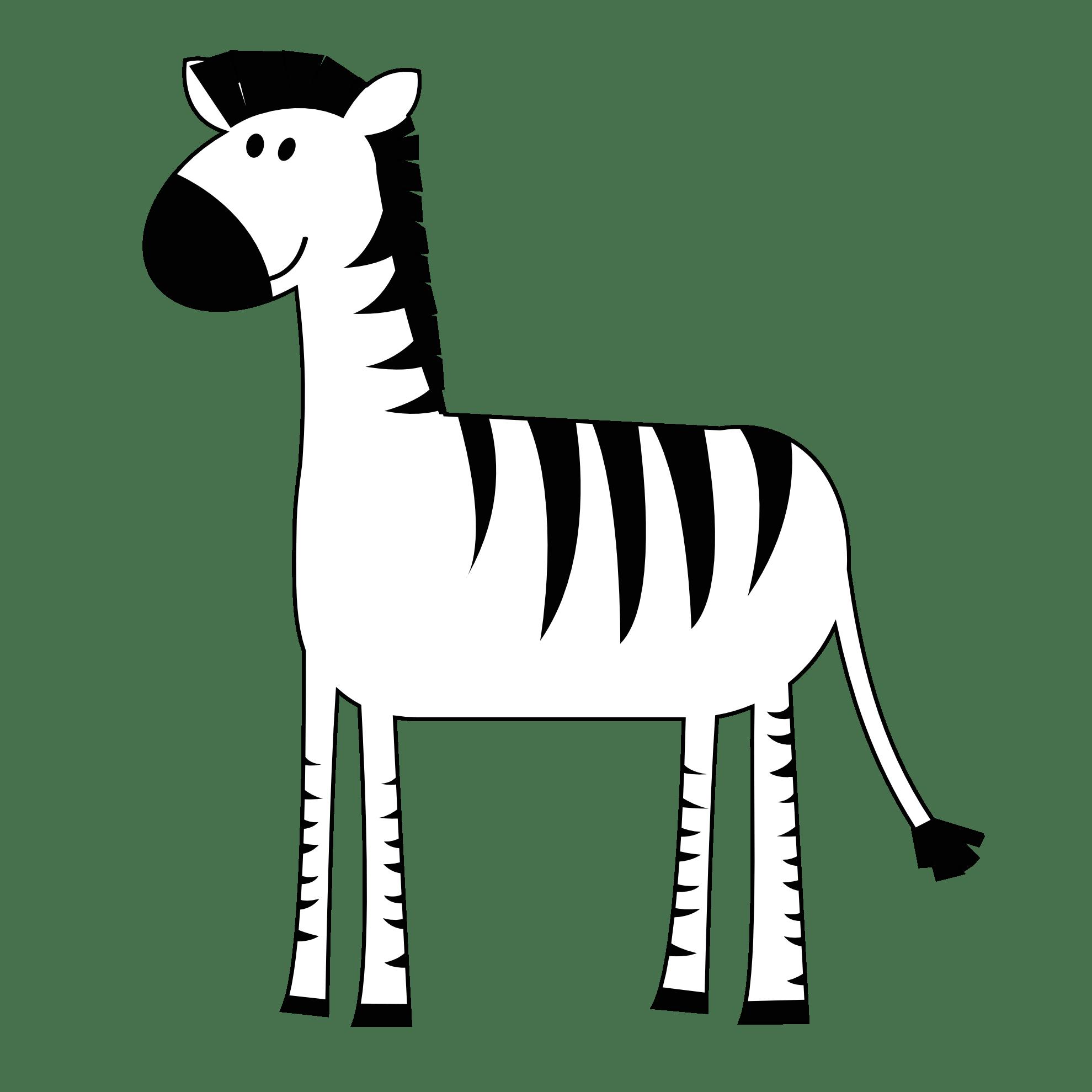 Pink Zebra Clipart Clipart Panda