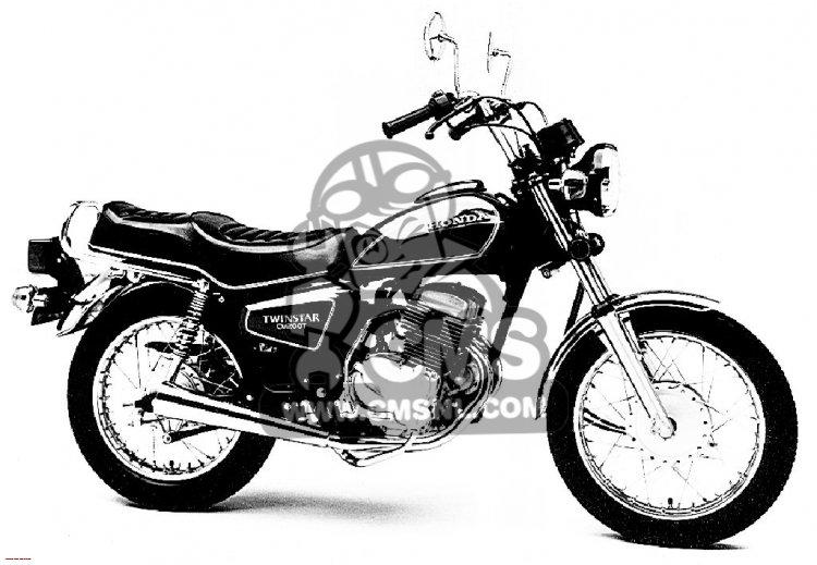 Honda CM200T TWINSTAR 1981 USA information