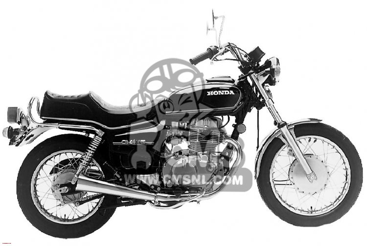 1980 Honda Cm400e