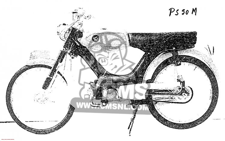 Honda PS50M (STANDARD) information