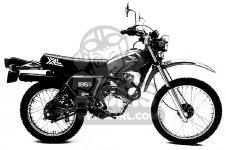 Honda XL185 parts: order spare parts online at CMSNL
