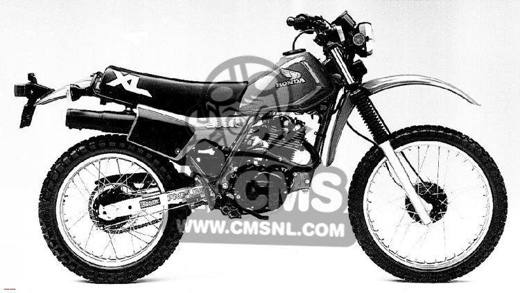 Honda XL200R 1984 USA information