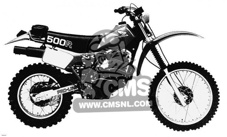 Honda XR500R 1982 (C) USA information