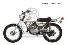 parts yamaha at1 motorcycle accessories spares replacement