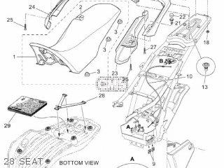 COVER, SEAT for XT660Z 2012 11D9 EUROPE TENERE 1L11D-300E2