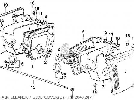 Honda CB400F Super Sport 400 1975 Parts