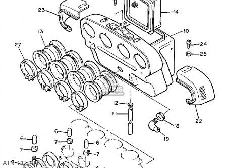 Joint, Carburetor 1 Xj700 Maxim 1985 (f) Usa 29R1358600