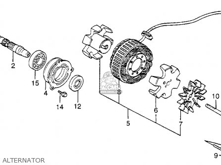 1976 ct90 wiring diagram rockford fosgate 4 channel rotor comp for cb700sc nighthawk s 1984 e usa order at cmsnl photo