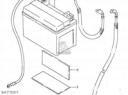 BATTERY ASSEMBLY (12V) FTX for DR650SE 2006 (K6) USA (E03